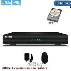 CCTV DVR Recorder 4/8 Channel 1080N HDMI/VGA HD Home 5in1 For Secutiy System Set