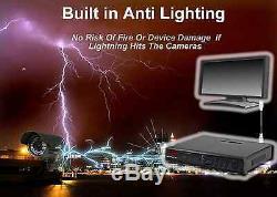 DVR CCTV Recorder 4, 8,16 ch H264 Hard Drive HDMI Hybrid p2p high definition UK