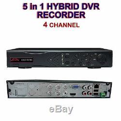 DVR CCTV Recorder 4, 8,16 ch HDMI 1080p Hybrid HD 4, 8 & 16 audio input BNC