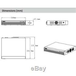 Dahua XVR5108HS-X 8CH Hybrid XVR DVR 5in1 H. 265 Video Recorder For CCTV System
