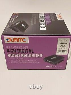 Durite 0-776-80 CCTV 4 Channel DVR Recorder with GPS & G Sensor 2168949