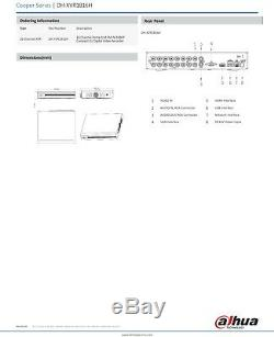 Ez-ip 5mp Dvr 4ch 8ch 16ch Cctv Recorder 1080p Hdmi Powered By Dahua CVI Tvi Ahd