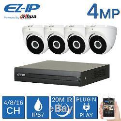 Ez-ip 5mp Dvr 4ch 8ch 16ch Cctv Recorder 4mp Camera 1080p Hdmi Powered By Dahua