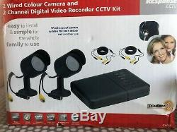 Friedland CWK3 2Wired Colour Camera & 2 Channel Digital Video Recorder CCTV Kit