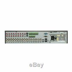HIKVISION 4K 32CH DVR 2160P Turbo Hybrid CCTV Recorder HDMI TVI DS-7332HQHI-K4