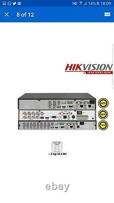 HIKVISION 8MP 8 Channel DVR 500GB HDfull Ultra HD VIDEO RECORDER DS-7208HUHI-K1