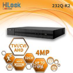 HIKVISION CCTV 4MP 1080P 32CH DVR 32 Channel HYBRID Digital Video Recorder HDMI