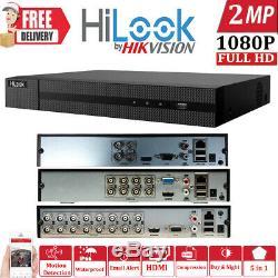 HIKVISION HILOOK DVR 4 8 16 32CH TURBO HD 1080P 2MP HDMI VGA CCTV Video Recorder