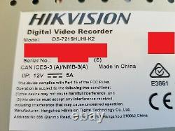 HIK Vision DS-7216HUHI-K2 16 Channel DVR CCTV Recorder 6 Months old GUI4