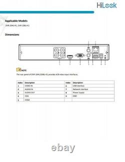 HiLook Hikvision 8CH FULL HD DVR 5MP LITE CCTV Digital Video Recorder
