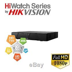 HiWatch 4/8 Ch Channel Cctv Video Camera Recorder Dvr no DDNS or Port Setting