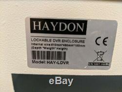 Hikvision CCTV 4 camera kit and recorder DVR (poc power coax)