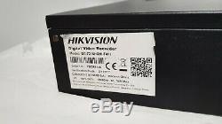 Hikvision DS-7316HQHI-F4 4K 16 Channel Turbo HD Hybrid DVD CCTV NVR DVR Recorder