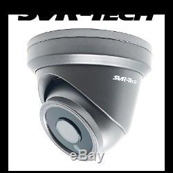 Hikvision DS-7608NI-K2/8P CCTV NVR + SVR-Tech 5MP Turret POE IP Camera Kit