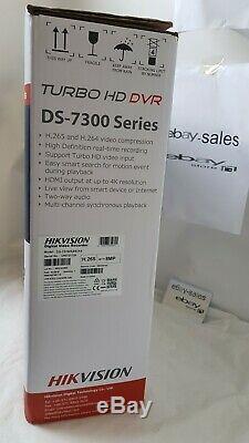 Hikvision Ds-7316huhi-k4 16 Channel 4k Turbo Hd Hybrid Cctv Dvr Recorder