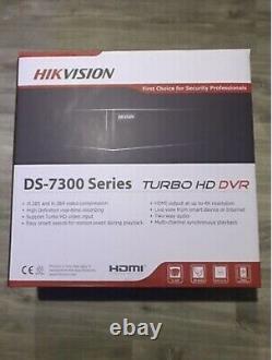 Hikvision Ds-7332huhi-k4 32 Channel Turbo Cctv Dvr Recorder 4k, 8mp Tvi, Cvi, Ahd