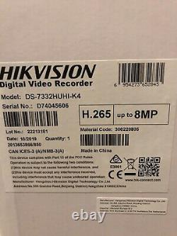 Hikvision Ds-7332huhi-k4 32 Channel Turbo Cctv Dvr Recorder Tvi, Cvi, Ahd