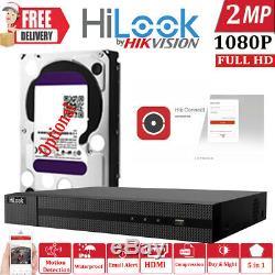 Hikvision Hilook Dvr 8ch 16ch 24ch 32ch Cctv 1080p Full Hd Channel Ahd Tvi CVI