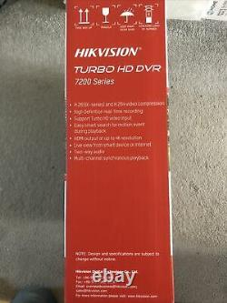 Hikvision Turbo HD DVR 7200 Series. Video Recorder Cctv Home Security