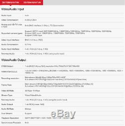 Hikvision Turbo Hd 3mp Dvr 4/8/16 Ch 1080p 4k Output Cctv Recorder Camera Uk^