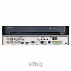 Hikvision Turbo Hd Dvr 8 Channel Cctv Digital Video Recorder Tvi Ds-7208 No Hdd