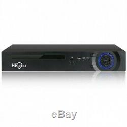 Hiseeu 8CH Channel H. 265 1080P DVR PoE Video Recorder For Security CCTV Camera