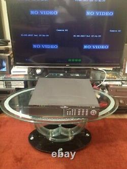 LJD Colossus Pro 4 Channel Expandable DVR CCTV Recorder Digital recording
