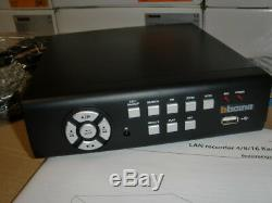 Legrand Bticino 391515 DVR 4-Kanal BNC 320GB mit LAN Video-Festplattenrecorder