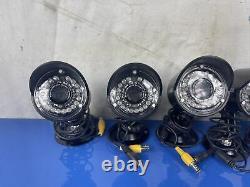 Lorex Security System LH118000 DVR 8 Camera System Recorder 5 Cameras & Remote