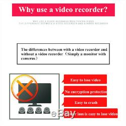 MASO 720P 4CH GPS 128G SD Card Disk Car DVR MDVR Video Record cctv IR Camera UK