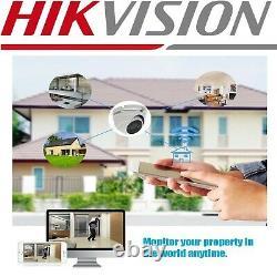 Original HIKVISION DVR Recorder 5mp Full HD Cameras Full Kit BUNDLE UK SPECS