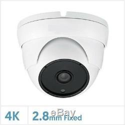 Oyn-x Kestrel 4k 8mp Cctv System Kit Indoor Outdoor Dome Camera Dvr Recorder Set