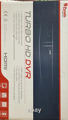 Pyronix HikVision DVR-104Q-K(2T) 5MP 1U Turbo HD DVR 2TB CCTV Recorder 4CH