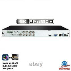 Q-See 8CH 2TB QTH87-2 8CH TVT 4K-UHD (GENERIC) (AHD-TVI-CVI-CVBS) UP TO 16T