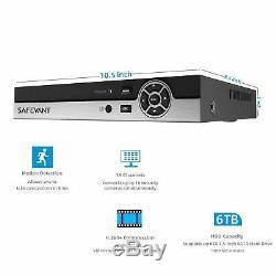 SAFEVANT 5MP Super HD 16 Channel DVR Video Recorder for CCTV Security System