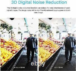 SMART CCTV HD Digital Video Recorder Camera System DVR 4CH Home Security Cam Dom