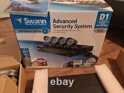 SWANN CCTV KIT 9 Channel D1 Digital Video Recorder & 4 x unused PRO-535 Cameras