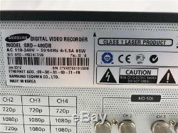 Samsung SRD-480D 4CH HD-SDI Video Digital Recorder CCTV DVR