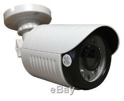 Sikker 16Ch DVR recorder 12x 1080P CCTV IR Security Camera System 2TB hard drive