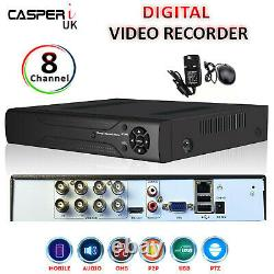 Smart CCTV 8 Channel Full HD 1920P DVR 4IN1 5MP Security Video Recorder AHD HDMI