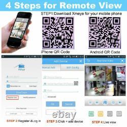 Smart CCTV DVR 4/8/16 Channel AHD Camera System 2MP/5MP Video Recorder 2K UHD UK