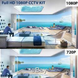 Smart CCTV DVR 4 8 16 Channel HD 1080N/1080P Video Recorder HD VGA HDMI BNC UK
