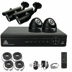 Smart CCTV System, KARE 4CH 1080N DVR Recorder with 4x Super HD 1.3MP Camera and