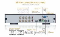 Spro 12 Channel 1080p Cctv Dvr Recorder 5 In 1 Hd CVI Tvi Ahd Cvbs Ip 2mp Audio