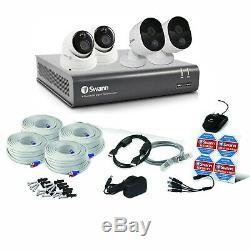 Swann 4580 4 Channel DVR 2TB Recorder 2x1080MSB 2x1080MSD HD 4 Camera CCTV Kit