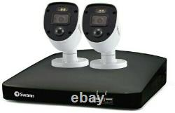 Swann 4 Channel 1TB DVR Recorder with 2 x 1080p Full HD Enforcer Cameras