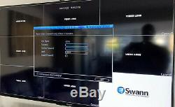 Swann CCTV DVR8 4600 Recorder with 4 x Pro A856 1080p HD Cameras massive 2TB HD