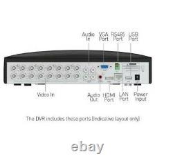 Swann DVR16 4680 16 Channel HD 1080p DVR AHD TVI 2TB HDD CCTV Recorder HDMI VGA