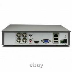 Swann DVR4 1580 4 Channel HD 720p 500GB HDD CCTV Digital Video Recorder HDMI VGA