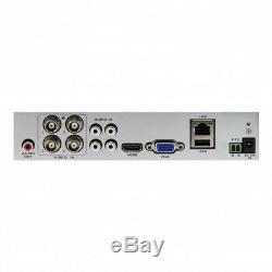 Swann DVR4-44580H 4 Channel HD 1080p DVR AHD TVI 1TB HDD CCTV Recorder HDMI VGA